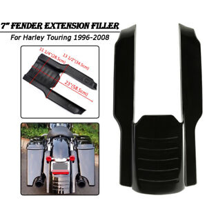 """9"""" STRETCHED MUDGUARD REAR EXTENSION For Harley Touring Street Glide 1996-08"""