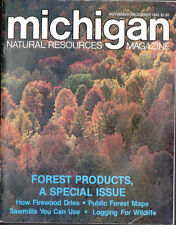 NOV/DEC 1983 MICHIGAN NATURAL RESOURCES MAG- FOREST PRODUCTS SPECIAL ISSUE