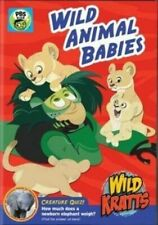 Wild Kratts Wild Animal Babies DVD 1 Disc Set Slipcover Sleeve