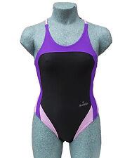 ACCLAIM Rio Ladies Girls Racer Back Swimming Costume Swim Suit 20% Lycra 2017
