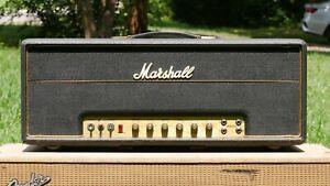 1972 Marshall Model 1959 100W SUPER LEAD W/Mullard EL34's