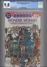 Wonder Woman Annual #1 CGC 9.8 1988 DC Comic George Perez Story & Art :New Frame