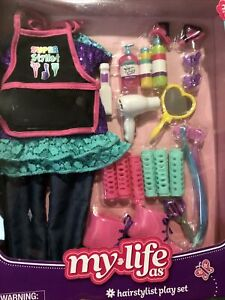 Lot Of 2 MY LIFE AS HAIRSTYLIST & CANDY SHOP PLAY SET