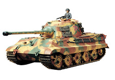 Tamiya 1/16 Rc Tank Series German Heavy Tank King Tiger Full Operation Set 56017