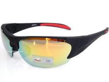 Occhiali da sole da uomo sport con montatura in nero SOLE