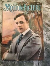 Motion Picture Magazine September 1917 With Harold Lockwood On Cover