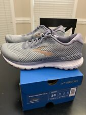 Brooks Adrenaline GTS 20 Womens Running Shoes Grey/Peach/White 10 M 1202961B073