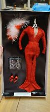 The Franklin Mint Marilyn Monroe Portrait Doll Red Dress