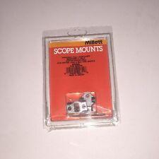 *NEW Millett Scope Mounts 2-Piece Nickel Riflescope Base For Browning A-Bolt