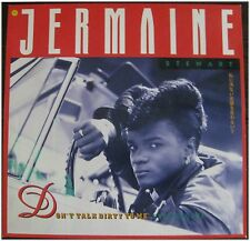 Jermaine Stewart, Don't talk dirty to me, VG/VG, Maxi Single EP (3093)