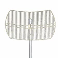 Hana Grid Dish Outdoor 19dBi 2.4GHz Wireless Wi-Fi Directional Parabolic Antenna