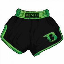 Booster Muay Thai - Kickboxen, MMA Shorts TBS Retro V2 Black/green. Gr. XS-XL.