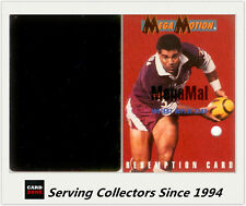 1995 Dynamic Rugby League Series 1 MegaMal Mal Meninga Motion Card + Redemption