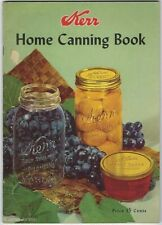 Kerr HOME CANNING BOOK Preserving Jam Jelly Jellies Marmalade Pickles Pickling