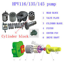 Cylinder block Rotor for Hitachi HPV116,HPV135,HPV145 pump,EX200-1,EX300