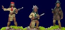 Artizan - Wild West Apache Characters II AWW201 28mm Unpainted Plains Wars