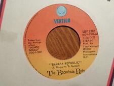 CANADA VERTIGO 45 RECORD/BOOMTOWN RATS/BANANA REPUBLIC/MAN AT TOP/VG+
