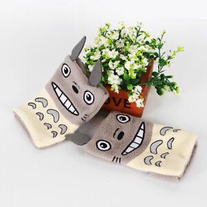 Ghibli Totoro Glove Warm Soft Plush Fingerless Anime Gloves Cute Mitten Cosplay