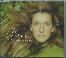 CELINE DION - THAT'S THE WAY IT IS / REMIX / ANOTHER YEAR HAS GONE BY 1999 UK CD