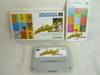 NICE DE SHOT Ref/bcc Super Famicom Nintendo sf