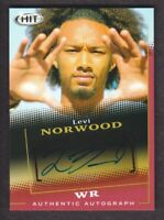 2015 SAGE HIT Football Autograph #A45 Levi Norwood Auto Baylor Bears