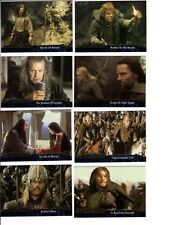 TOPPS 2003 LORD OF THE RINGS LoTR RETURN OF THE KING PREVIEW CARDS 9 CARD SET