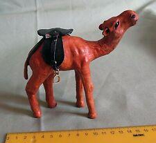 Small Camel figurine, leather