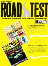 1967 Renault R-10 R10 Road Test Sales Brochure