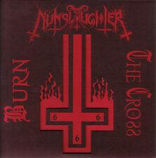 "Nunslaughter - Burn The Cross 7"" LP Black Death Metal Bathory Venom - NEW COPY"