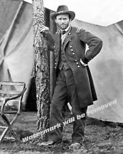Photograph Civil War General Ulysses Grant Cold Harbor Year 1864  8x10