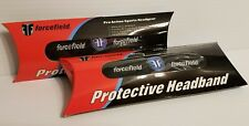 Lot of 2 Black FORCEFIELD Protective Headband Soccer Basketball Tennis Sport New