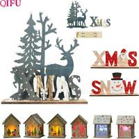 Wood Ornaments Christmas Home Decoration for Christmas Decorations For Home 2020