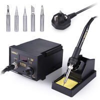 YIHUA 937D 45W Electric Soldering Station Solder Iron Welder Welding Stand 6 Tip