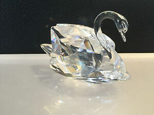 SWAROVSKI Figurine Large Swan 7,5 CM (((Top Condition)))