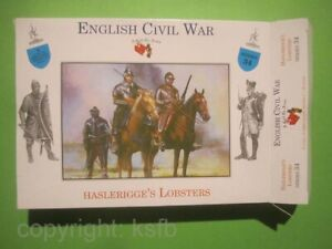 1:32 Figuren Call to Arms #34 englischer Bürgerkrieg Haslerigges Lobster Reiter