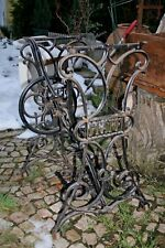 PFAFF antikes Nähmaschinen Gestell Guss Eisen Nähmaschine Tisch 1900
