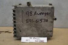 1998 Dodge Avenger Engine Control Unit ECU 05293008AE Module 64 11C7