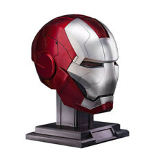 1:1 AutoKing Iron Man MK5 Helmet Wearable Cosplay Prop Voice-controlled Deformed