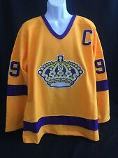 Wayne Gretzky # 99 Los Angeles Kings NHL Hockey Jersey Size XL/52