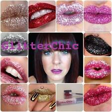 Glitter Lips Lipstick Glitter Cosmetic Glue Brush Gift Bag Instructions Sparkle