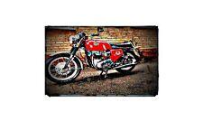 1967 bsa spitfire Bike Motorcycle A4 Retro Metal Sign Aluminium