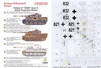Techmod 1/35 pz.kpfw.vi Tiger ausf.e Early Producción #35008