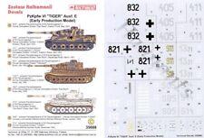 Techmod 1/35 pz. Kpfw. VI Tiger Ausf. e producción temprana # 35008
