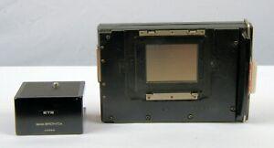 Zenza Bronica ETRS Polaroid Back,  ETR ETRS ETRSi, Tripod adapt., Loaded FP100C