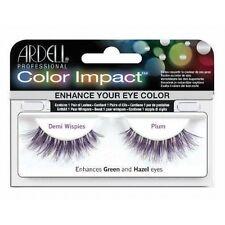 Ardell COLOR IMPACT Demi Wispies Plum False Eyelashes - Quality Fake Lashes!