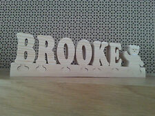 Letter Shaped Baby Decorative Indoor Signs/Plaques