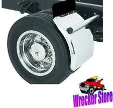"STAINLESS STEEL TRUCK, ROLLBACK, CARRIER QUARTER FENDERS - 16"" to 19.5"" WHEELS"