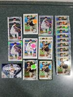 Joey Cantillo 1st Bowman Chrome Mojo Refractor Paper RC Lot of (53) Indians 📈📈