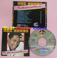 CD SAM COOKE For sentimental reasons 1988 eec WORLD STAR COLLECTION (Xs8)lp mc