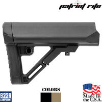 UTG PRO Black Flat Dark Earth Commercial Collapsible 6 Position Rifle Stock